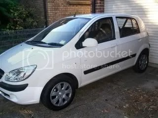 Hyundai Getz 2009 21 May 09