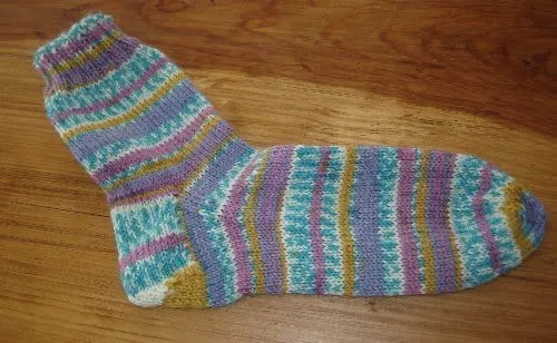 First Ever Sock