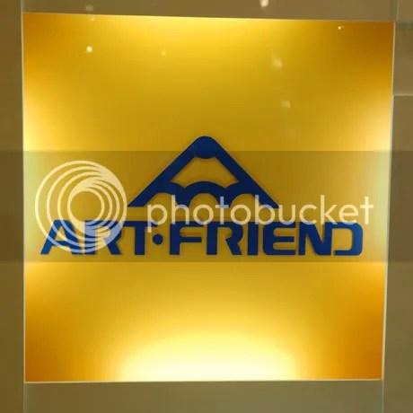 Art friend - A shop over here that sells a Hell lotta art stuff.