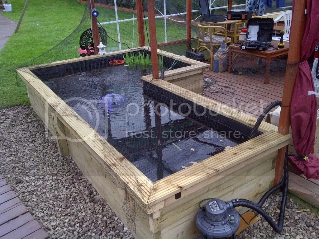 Koi Pond Construction Design