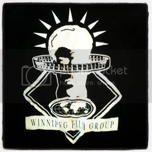 Winnipeg Film Group retro tshirt