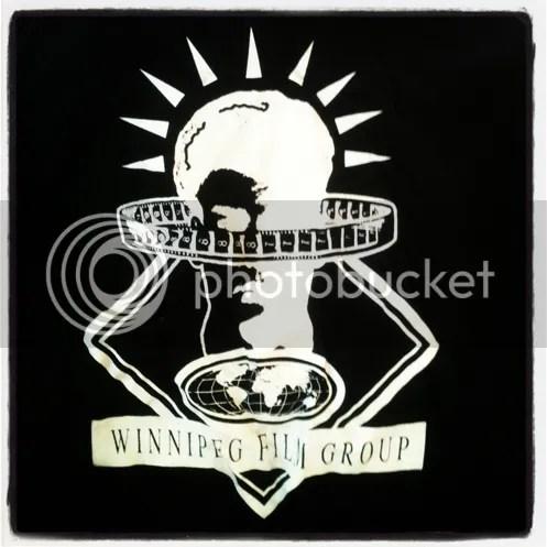 Winnipeg Film Group retro tshirt