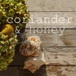 coriander & honey