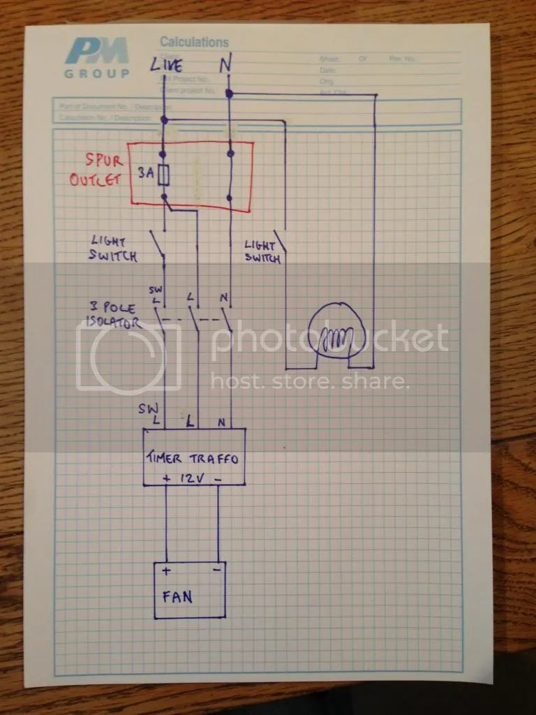 medium resolution of wiring advice on extractor fans boards ie