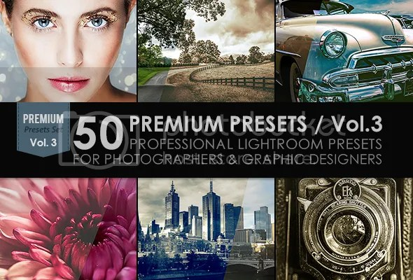 50 Premium Lightroom Presets / Vol.1 - 2