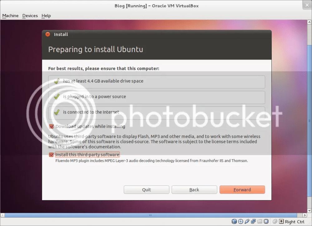 Hướng dẫn cài đặt Ubuntu 11.04 song song với Windows 7 (4/6)