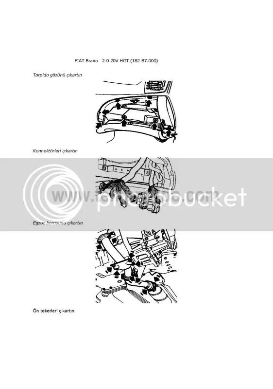 Bravo 2.0 20V HGT (182B7.000) Motor Kaldırma/Alma/Remove