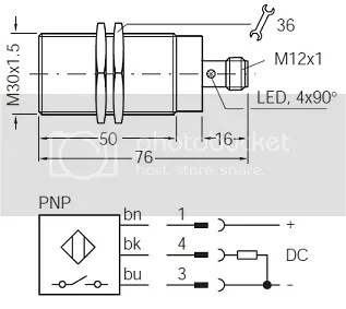 SICK IM30-15BPS-ZC1 Inductive Proximity Sensor PNP 1-NO