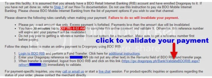 DragonPay online payment promo tickets