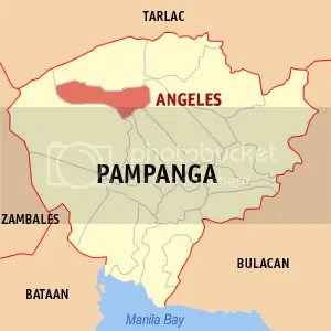 Angeles City Pampanga Map