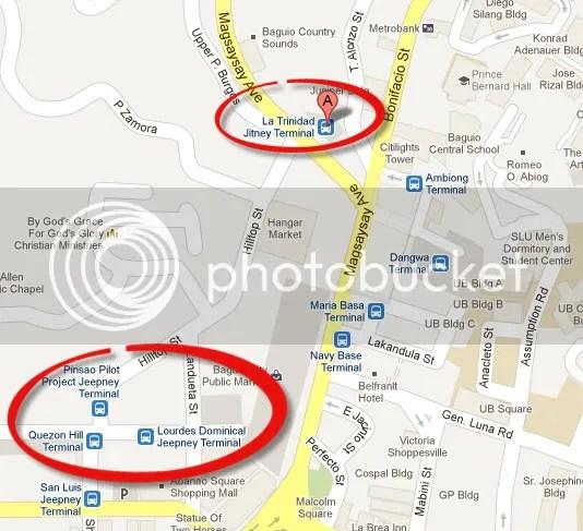 Baguio Tour - La Trinidad Jitney Terminal Magsaysay Road
