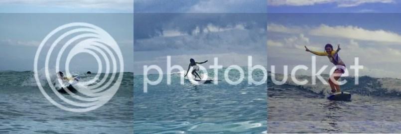 Baler surfing