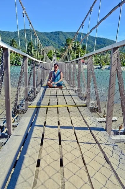 Hanging Bridge Baler