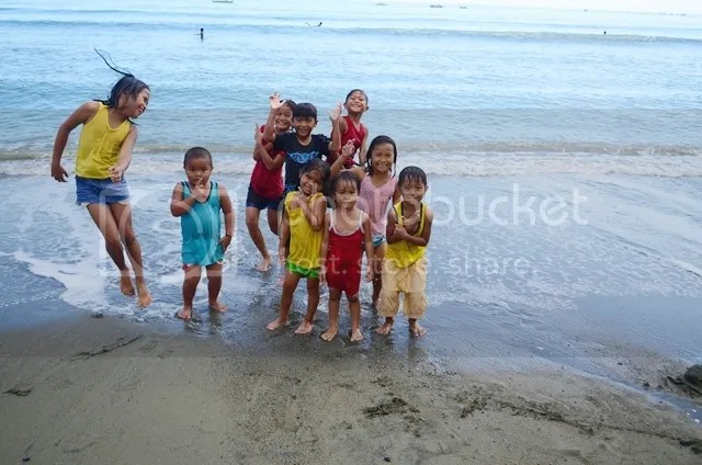 Local kids Sabang Beach