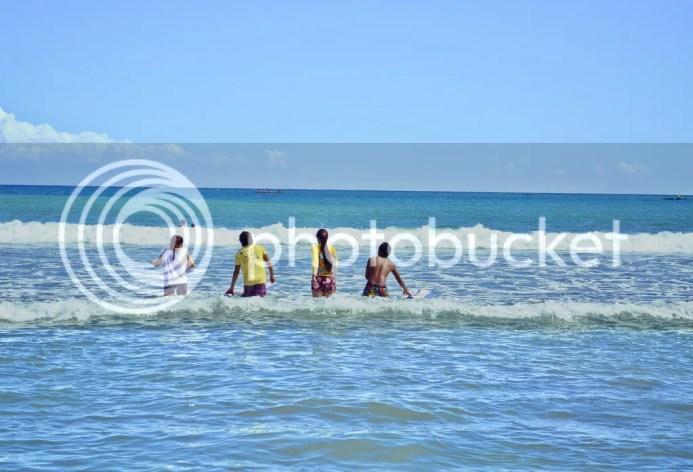 Surfing in Baler Secret Point Surf Spot