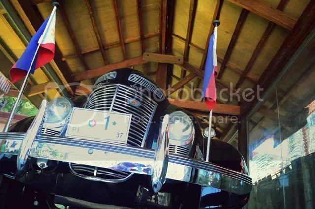 Presidential Car Luis Quezon Baler