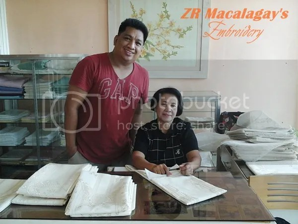 Nida Macalagay Maker of Lumban Gowns and Barong