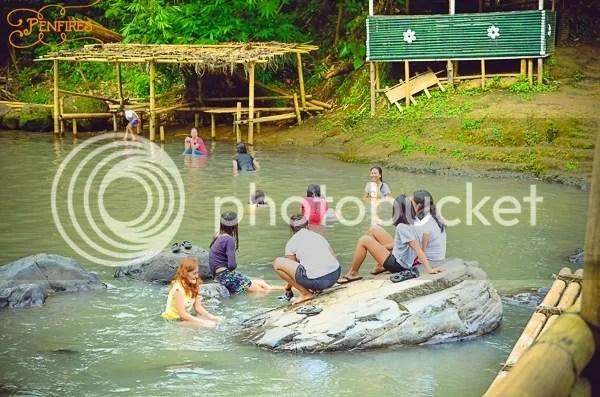 Bunga Falls Visitors