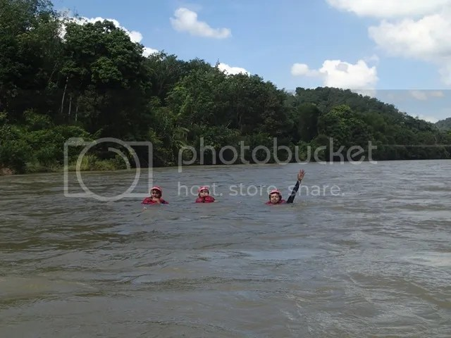 body rafting river