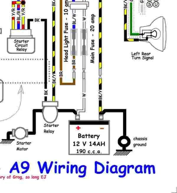 KLR650 startingcircuit1_zps40c8aba2?resize=600%2C656 2003 klr 650 wiring diagram the best wiring diagram 2017 1999 KLR 650 at virtualis.co