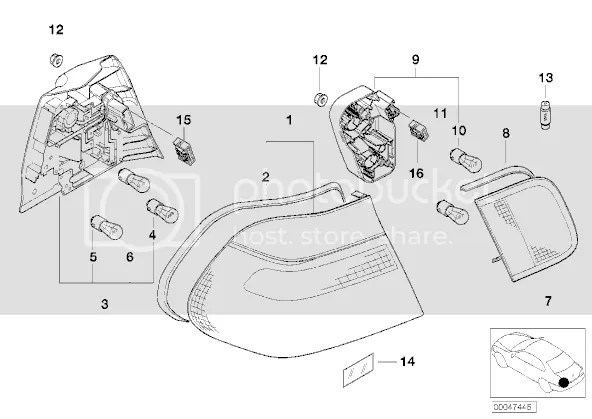 Bmw E36 Tail Light Wiring Diagram 2005 Ford Expedition