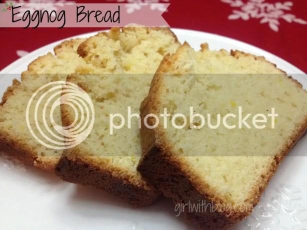 Eggnog Bread from GirlWithBlog.com