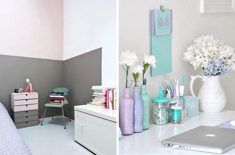 DECO: Pastel Colors Inspiration Decoración, Ideas Para La