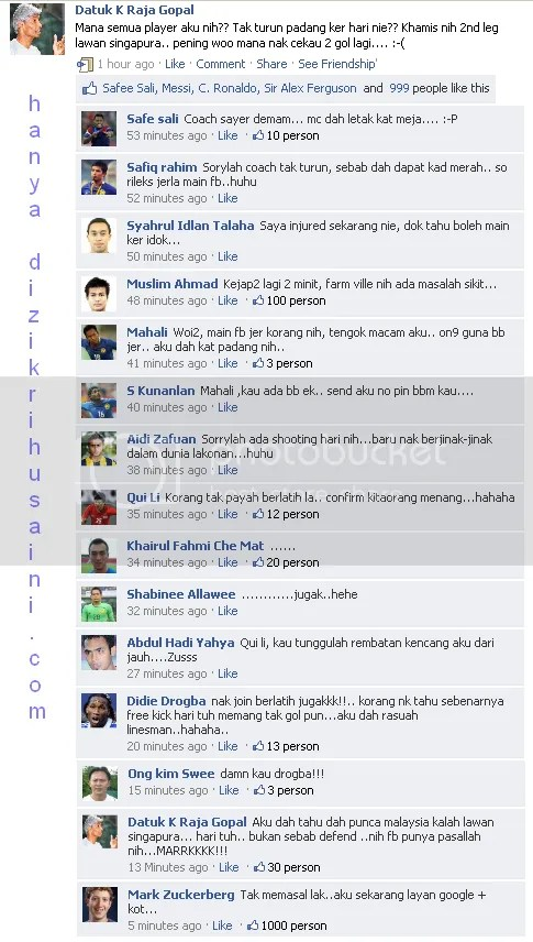 fbstatusmalaysiavssingapura.png fb status lawak, fb status funny, k raja gopal mengamuk di fb, k raja gopal percaturan khamis 28 julai ini