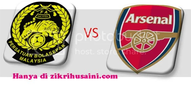 malaysiavsarsenal2011.png malaysai vs arsenal, malaysia vs arsenal, keputusan terkini malaysia vs arsenal 2011