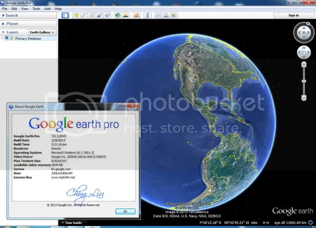 Image নিএ নিন Google Earth PRO 7.0.3.8542 Final Portable