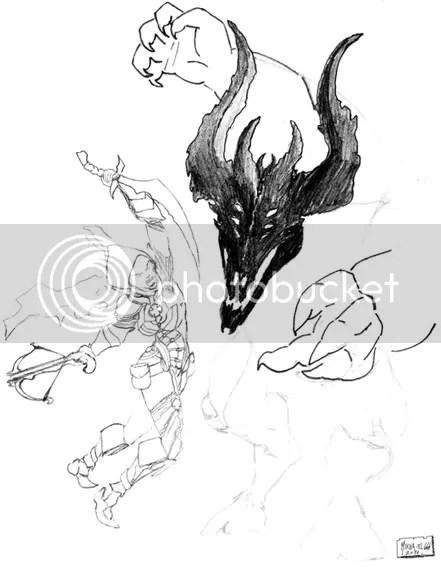 Diablo 3 ESP • Proceso de dibujo digital!!!