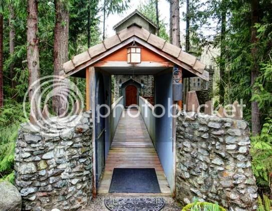 Entrada al castillo de Sedro-Woolley (Washington)