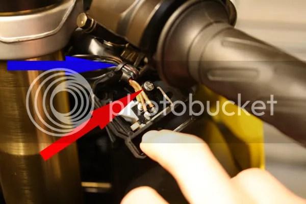 suzuki hayabusa wiring diagram 2003 dodge ram 1500 headlight starter switch fix *pics* - gsx-r motorcycle forums gixxer.com