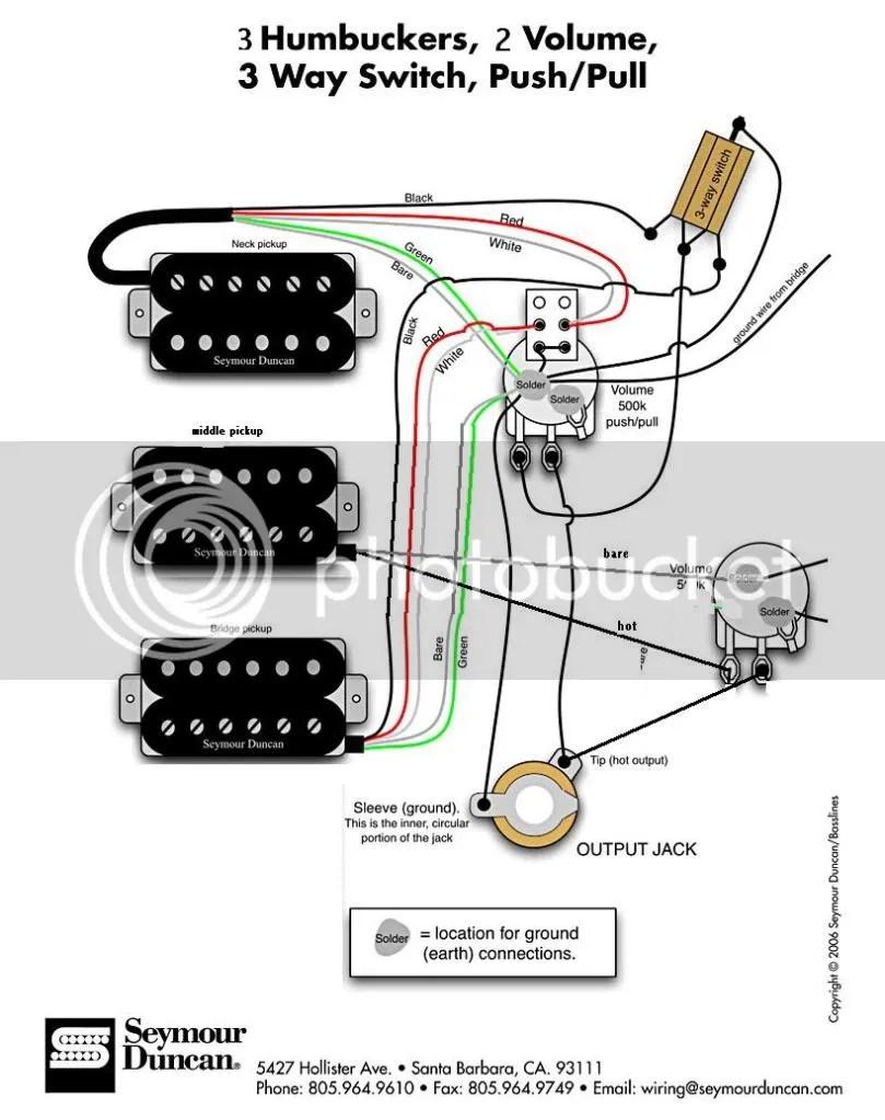 3 humbucker les paul wiring enthusiast wiring diagrams u2022 2012 les paul wiring les paul pickup wiring [ 809 x 1023 Pixel ]