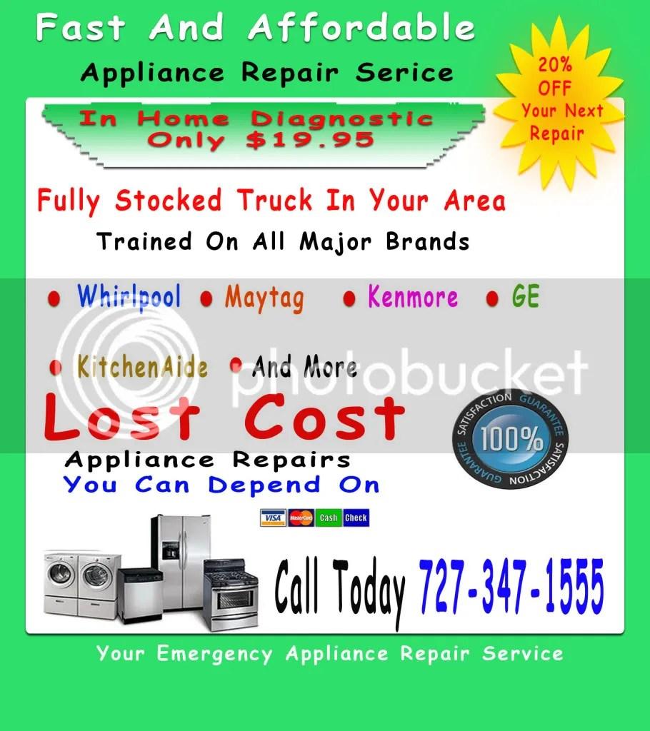 tappan appliance repair