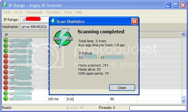 scan Completed