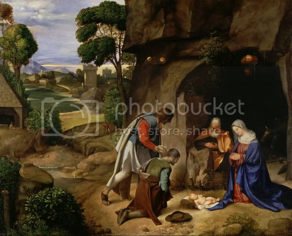 Giorgione, The Adoration of the Shepherds, 1505.
