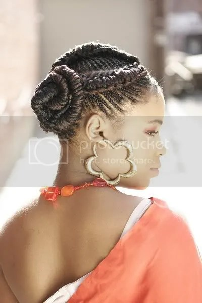 Photo of Goddess cornrow