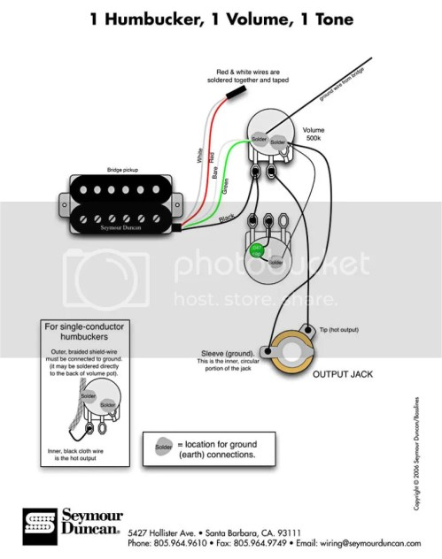 small resolution of wiring a gfs humbucker need detailed instruction harmony wiring pickup wiring harmony central