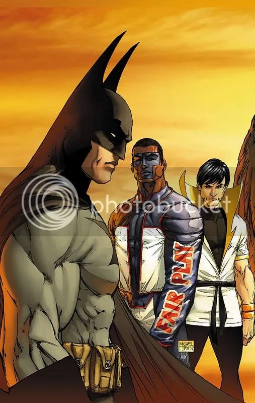 JLA/JSA and Legion of Superheros?