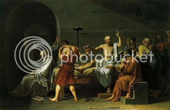 A Morte de Sócrates - Jacques-Louis David