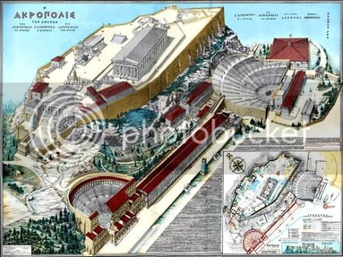 Reconstrução da Acrópole de Atenas