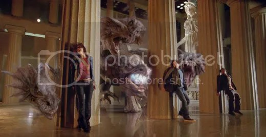 Percy Jackson, Annabeth e Grove contra a Hidra