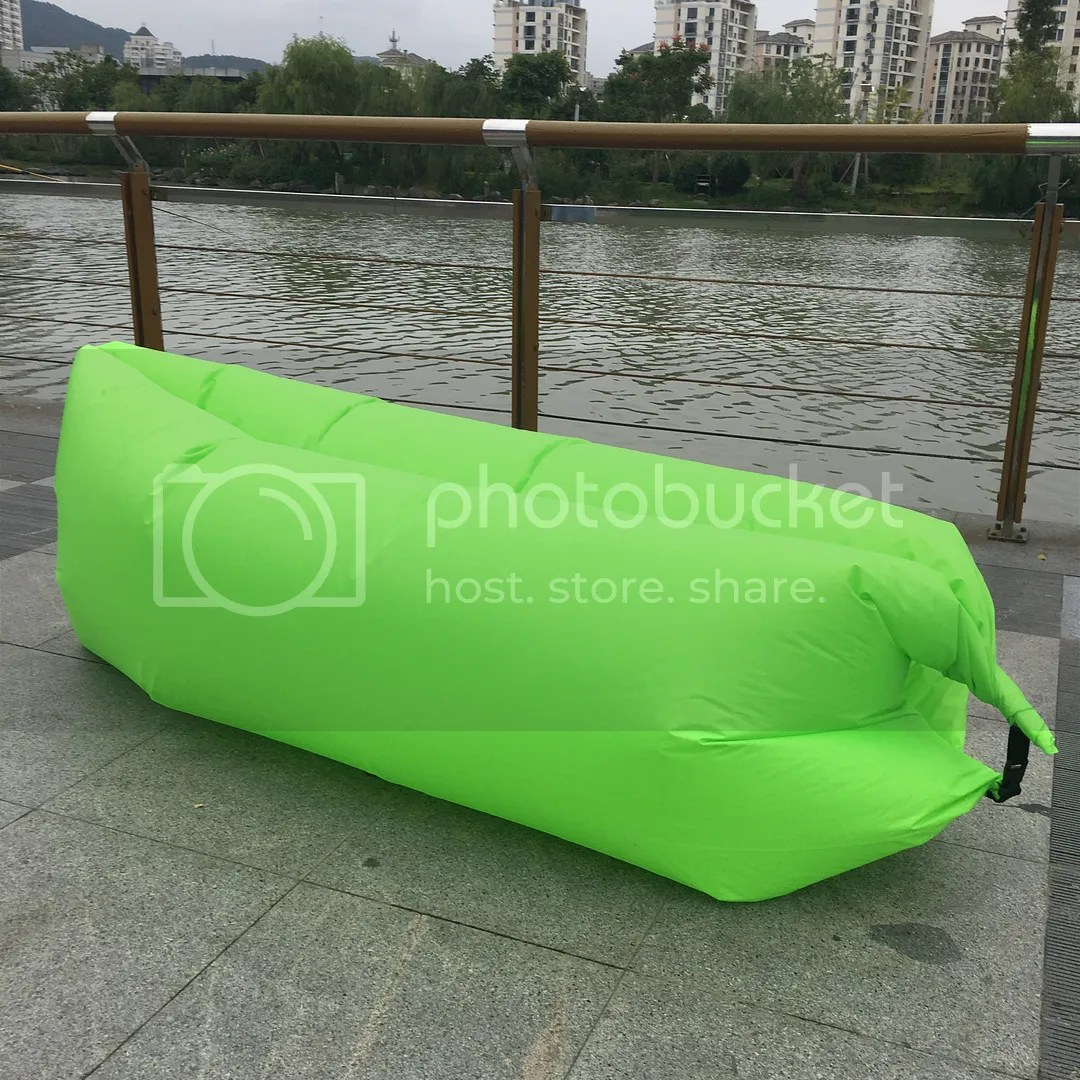 inflatable outdoor sofa chair best office for back support lazy couch air sleeping lounger