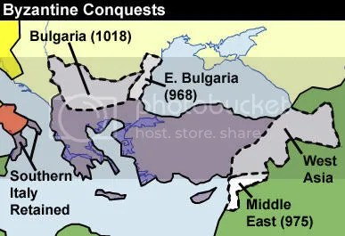 Byzantine conquests