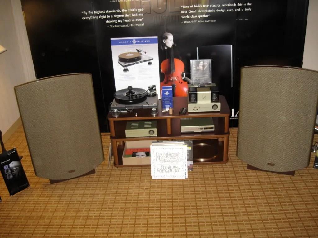Quad ESL 2805 & Quad II amps