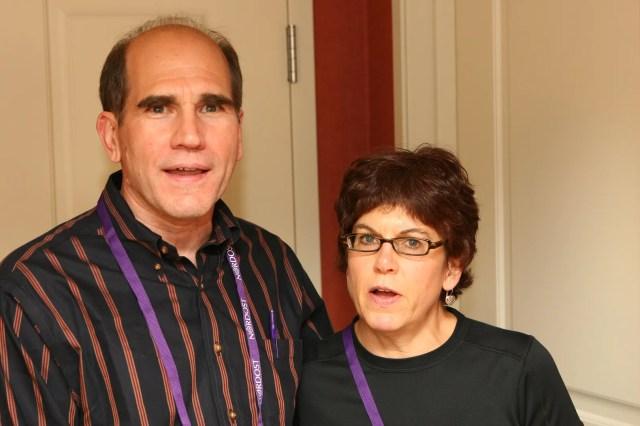 Gordon Rankin and his wife