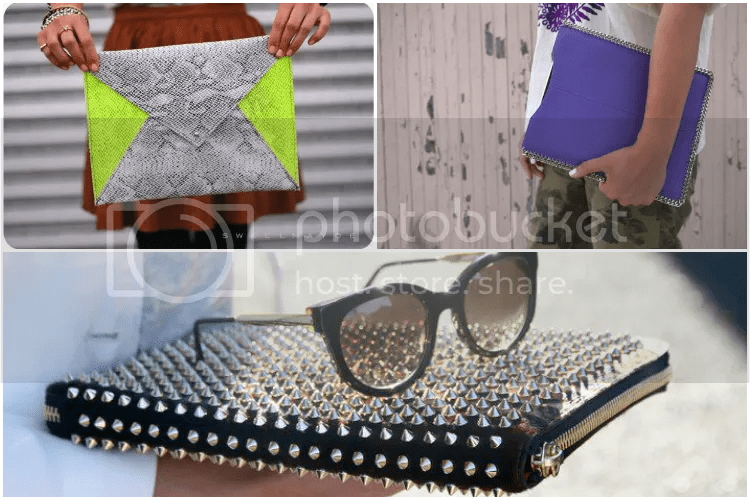 diy, summer, 2013, blogger, ideas, inspiration, ipad, case, studs, pouch, chains