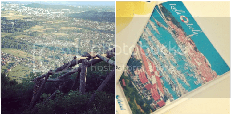hill, hiking, postcard, instagram
