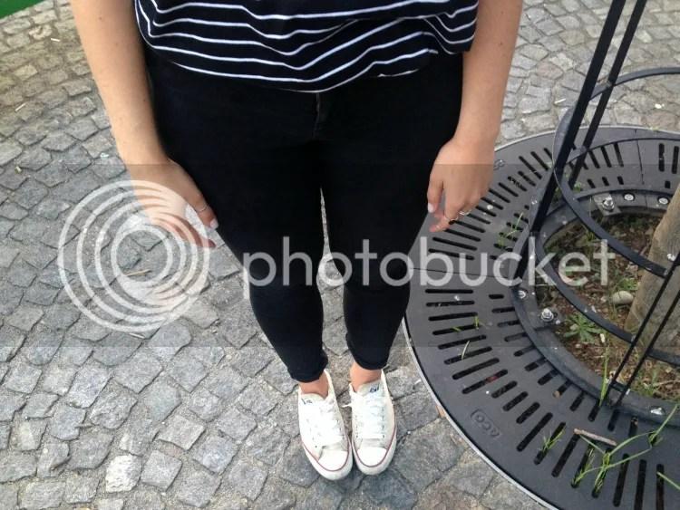 fashion junkie, black pants, blogger, outfit, topshop